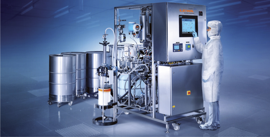 Lewa Ecoprime 174 The Next Plateau In Preparative Chromatographybioprocess International