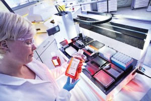 SSB's ambr15 system enables rapid evaluation of 24 or 48 multiple bioreactor cultures at microscale.