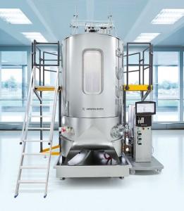 Photo 1: BIOSTAT STR 2000 bioreactor