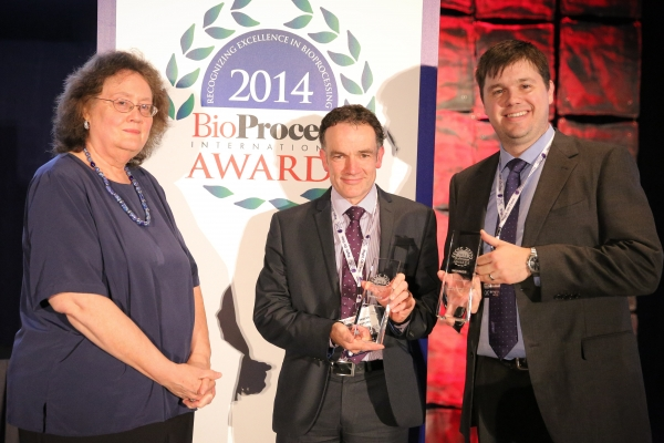 2014 BioProcess International Awards Collaboration Winners, TAP and Merck