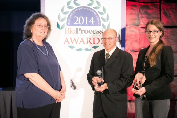 2014 BioProcess International Technology Application Winner - Downstream