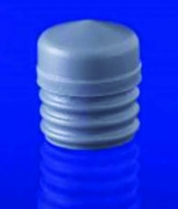 Photo 1:  Fluoropolymer laminated prefillable syringe piston