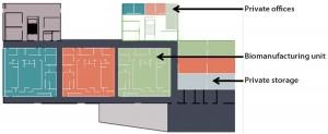 Figure 1: Accinov biomanufacturing facilities