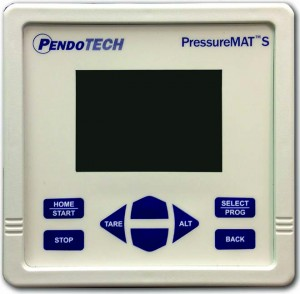 Photo 1: Single-channel PressureMAT unit for low-pressure monitoring