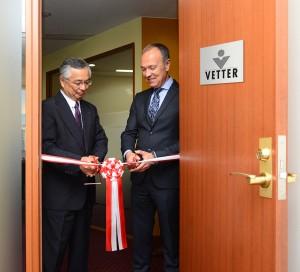 Vetter_Office Opening Japan
