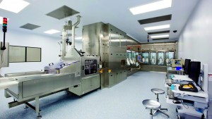 Photo 5: Cook Pharmica drug-product manufacturing (fill-finish) suite