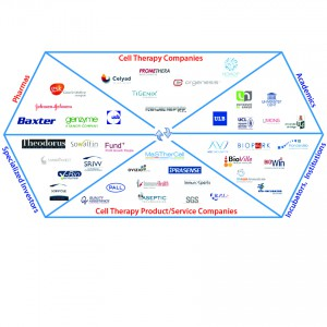 "Figure 1: These and other companies in the region support the Belgium biopharmaceutical ""ecosystem"""
