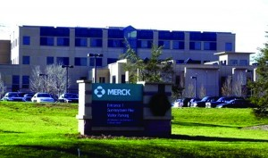 Photo 1: Merck manufacturing site in West Point, PA
