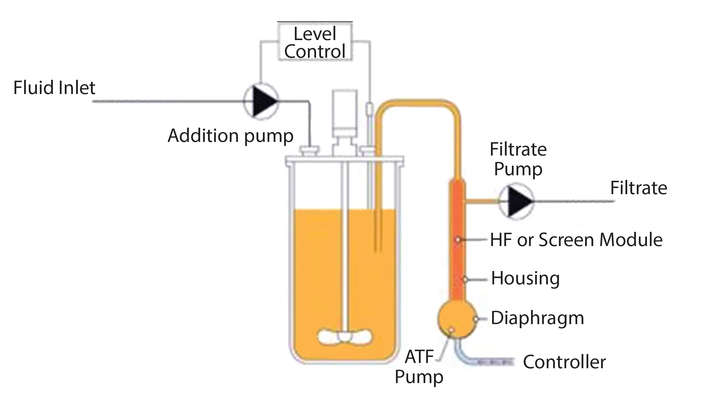 How To Set Up A Perfusion Process For Higher Productivity And Flow Diagram Reactor Figure 1 Product Through