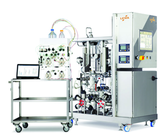 Scale Up Of Twin Column Periodic Countercurrent Chromatography For