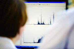 reading chromatograms detailing HCP assay results